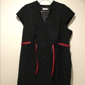 Black Calvin Klein Dress-Size 20